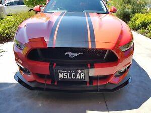 Ford Mustang Front Splitter