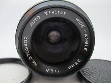 VIVITAR 35MM F2.8 AUTO WIDE ANGLE EE LENS FOR KONICA