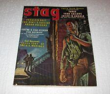 Vintage Stag  Magazine September 1961 Top True Men's Adventure   FREE SHIPPING
