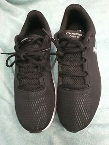 Under Armour Mens Charged Pursuit  Running Shoes Trainers Sneakers - Black uk9