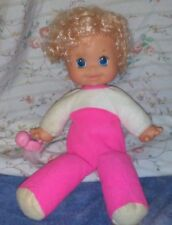 VINTAGE  REMCO 1979 BABY DOES IT ALL DOLL  SO ADORABLE LOOK !!!
