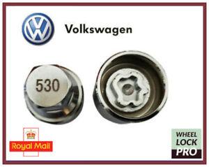 New Volkswagen VW Locking Wheel Nut Key Number 530 'L' - UK Seller