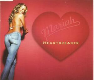 Mariah Carey - Heartbreaker limited edition CD single with double sided poster