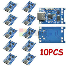 10PCS TP4056 Lithium Battery Charger Module Type-C USB Charging Board Module
