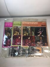 Vintage 1971 Guitar Course Learning Unlimited Audio/Visual Level #1 #2 #3