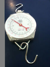 BUTCHER'S HANGING CLOCK SCALE 200KG  - NEW