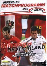 Länderspiel 06.02.2008 Österreich - Deutschland