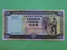 Macau (Macao) BNU 1999 50 Patacas (EF) BP 22717