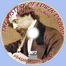 MYSTERY OF EDWIN DROOD Charles Dickens Audiobook MP3CD CLASSIC NOVEL