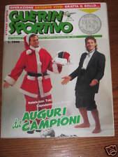 GUERIN SPORTIVO 1990/51-52 ROBERTO BAGGIO UN ANNO DI SPORT TOTO' SCHILLACI @