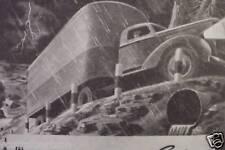 1945 WWII vintage OLD ADS WARNER ELECTRIC  BRAKES TRACTOR TRUCK
