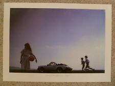 1984 Porsche 911 SC Cabriolet Showroom Advertising Poster RARE!! Awesome L@@K