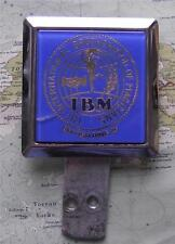 Vintage Chrome Car Mascot Badge : The International Brotherhood of Magicians