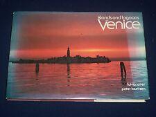 1980 ISLANDS & LAGOONS OF VENICE BOOK BY FULVIO ROITER & LAURITZEN - KD 2693