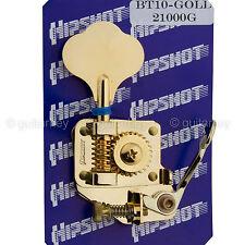 NEW Hipshot BT10 Bass Extender D-Tuner Tuning Key for Japanese Fender Bass GOLD