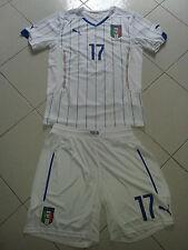Puma Italia Away Jersey completo maglietta+pantaloncino tg L nr 17 ORIGINALISSIM
