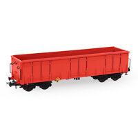 1pc/3pcs HO Scale 1:87 Open Gondola Car Red Rolling Stock Railway Wagons