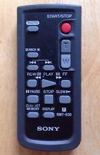 SONY RMT-830 AV SYSTEM REMOTE CONTROL, DCR-HC19E, DCR-PC103E, DCR-TRV265E