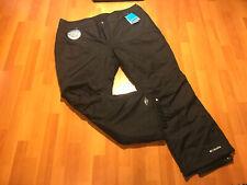 Columbia Bugaboo Omnitech Seam Sealed Snow Pants Women's 3X Plus Size Black New