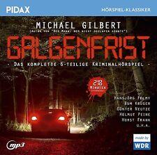 Galgenfrist * CD 6-teiliges Krimihörspiel mit Hansjörg Felmy MP3-CD Pidax Neu