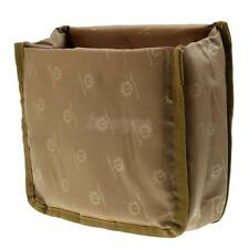 New Partition Padded Camera Bag SLR DSLR Insert Protection Case Brown Small
