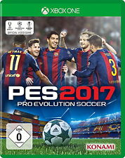 Pro Evolution Soccer 2017 Microsoft Xbox One Game Spiel Fussball control Reality