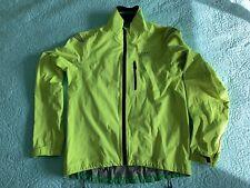 Yellow Gore Bike Wear Gore-tex Active Cycling Jacket Mens Medium