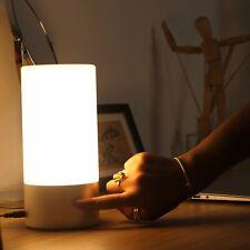 Lampe de Chevet LED Contrôle Tactile a 360° Luminosité Variables 256 Couleurs