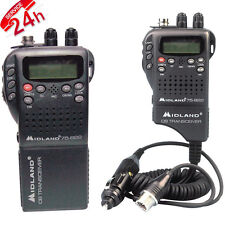 40 Channel CB Radio Way Portable Handheld Transceiver Mobile Communication New