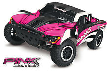 Traxxas 2WD Slash Short Course Race Truck w/Pink Body TRA58024-PINK