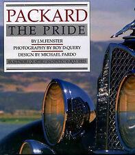 PACKARD THE PRIDE CAR BOOK FENSTER 8 12 CLIPPER PATRICIAN SUPER EIGHT TWELVE V12