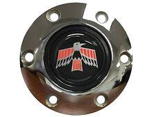 Volante S6 Chrome Horn Button Classic Firebird Emblem