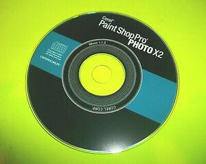 ⭐ COREL PAINT SHOP PRO PHOTO X2 - WINDOWS PC XP CD 2007 W/KEY ⭐