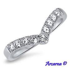 Diamond 18 Carat White Gold Eternity Fine Rings