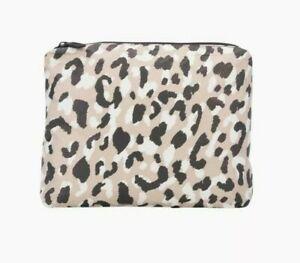 Aloha Collection small Wildcat leopard animal pouch bag travel bikini beach