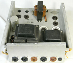 Vintage  Tube Type Amplifier from Organ