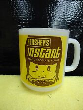 SUPER RARE Hershey's Instant Anchor Hocking Fire King Milk Glass Mug Cup