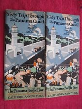 1929 Panama Pacific Ship Line, California to New York 24 Page Brochure Booklet