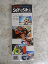 Sunpak SelfieStick Blutoothw/Built in GoPro mount, Fits most devices(55918-1 R)