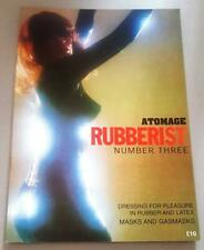 Rare Vintage Atomage Rubberist Magazine No 3  Rubber & Latex Fashion