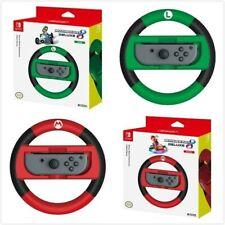 HORI Official Nintendo Switch Mario Kart 8 Deluxe Racing Wheels Mario & Luigi
