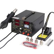 Fer à Souder Station de Soudure 937D Rework SMD Dessouder Soudage 200℃-480℃ 220V