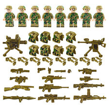 Army Marines Special Forces Military Minifigures Set 8 Solders Lot - USA SELLER