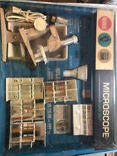 Vintage Gilbert Microscope And Lab Set