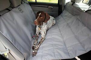 Petego EGR Emanuele Bianchi Dog Car Auto Pet Rear Seat Hammock XL SUV Grey