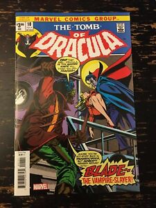 Tomb of Dracula #10 1st app. Blade the Vampire Slayer (Facsimile) Free Comb Ship