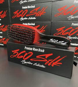 Premium 360 Silk Boar Bristle Wave Brush