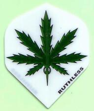 "Ruthless Extra Strong Dart Flights ""marijuana leaf"""