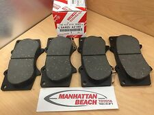 03-07 SEQUOIA Front Brake Pads Genuine Toyota Ceramic 04465-AZ100