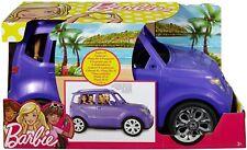 More details for dvx58 barbie suv purple car, doll accessory